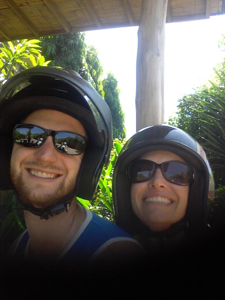 Moped Selfie!