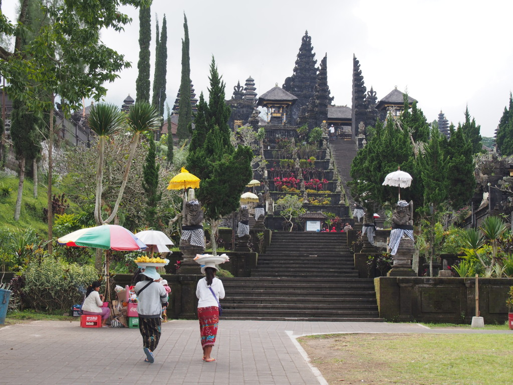 Inside the Temple Grounds